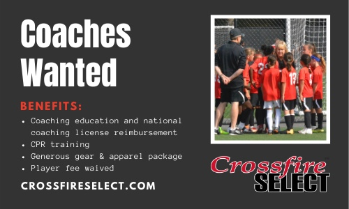 Crossfire Select Coaching Opportunities